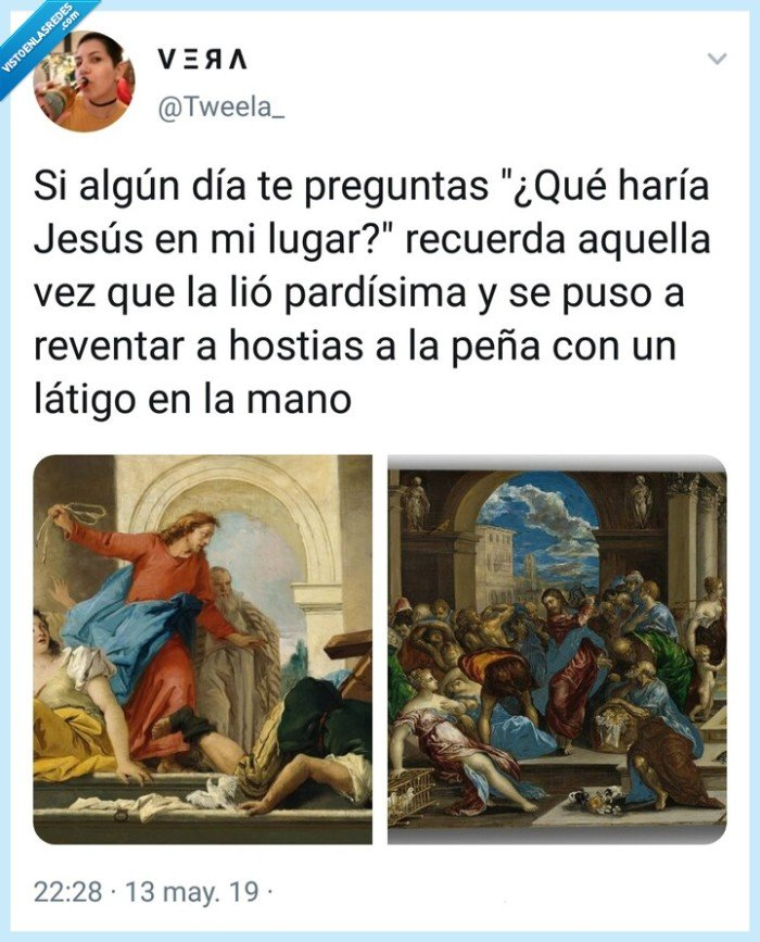 Dios,hostias,Jesu cristi,Jesucristo,Jesús,latigo,paliza,parda,pegar,pelea,Tweela,Tweela_