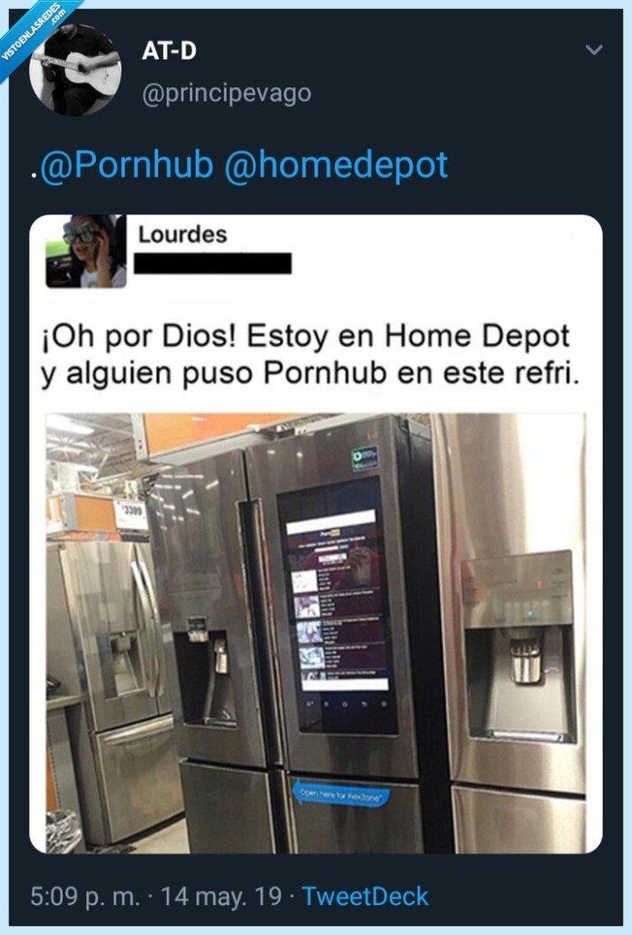 Home Depot,nopor,principevago,Refrigerador