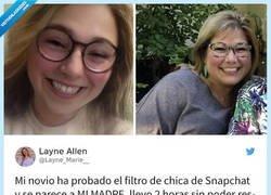 Enlace a El filtro de SnapChat para cambiar de género nos está dejando loquísimos