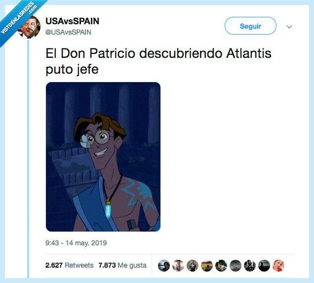 atlantis,contando lunares,don patricio