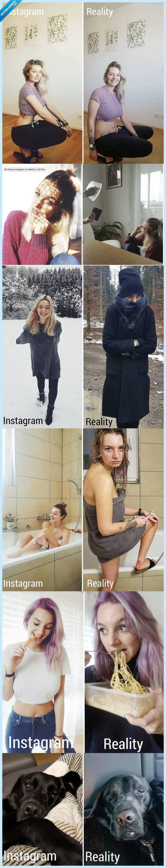 bonito,instagramer,mostrar,reaidad