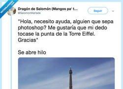 Enlace a Pide ayuda a los usuarios de Twitter con el Photoshop y el resto es pura magia, por @SalomonMariade