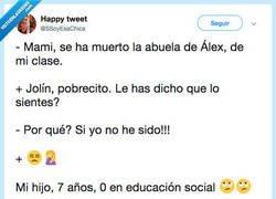 Enlace a Pero tiene un 10 en respuestas graciosas, por @SSoyEsaChica