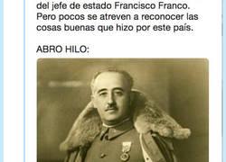 Enlace a Franco hizo cosas buenas, por @tripon10