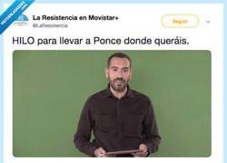 Enlace a FANS DE @LARESISTENCIA CHOPEAN A JORGE PONCE Y EL TROLLEO SE LES VA DE LAS MANOS, por @LaResistencia