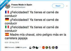 Enlace a En vez de la enhorabuena te meten el cague, por @FrasesMadeSpain