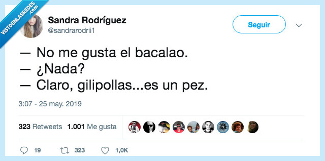 bacalao,chiste,duro,gustar,malo,nada,pez