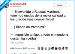 Enlace a ¿A quién no le gusta una buena rueda?, por @Formalito_el