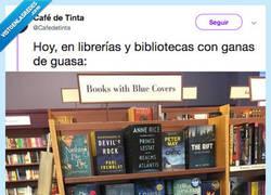Enlace a Estas librerías utilizan el sentido del humor para ordenar sus libros y el resultado es una j*dida maravilla, por @Cafedetinta