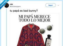 Enlace a DAD BUNNY, por @conoloracigarro