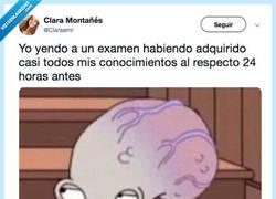 Enlace a Tengo el cerebro a full de información, por @Claraemr