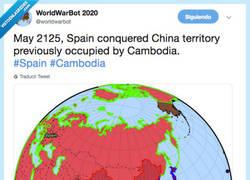 Enlace a Españita ha conquistado China en la WorldWarBot y los memes son insuperables