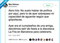 Enlace a Denuncia un caso de racismo en una discoteca de Barcelona que es vergonzoso, por @WizardsMax