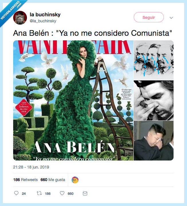 ana belen,che,comunismo,kim,marx,soldado