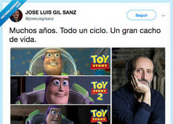 Enlace a Gracias @joseluisgilsanz por ser también un cachito de nuestra infancia
