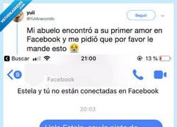 Enlace a Encuentra al amor de su vida por Facebook muchos años después de haberla visto por última vez, por @YuliAnacondio