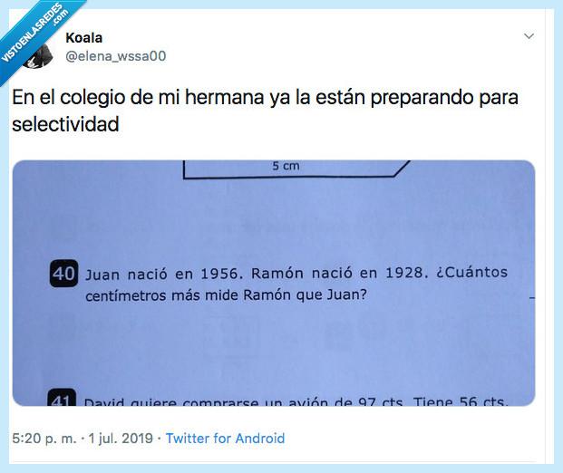 #bachillerato #meme #matematicas #selectividad #dificil