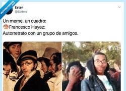 Enlace a Compara los memes más famosos con cuadros y el hilo es una obra de arte, por @Strtrrs