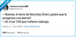 Enlace a Securitas Direct siempre tan atentos, por @Mortimer_Fu