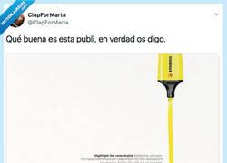 Enlace a La publicidad bien hecha es una pasada, por @ClapForMarta