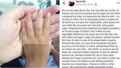 Enlace a Da una lección de diversidad con este texto donde habla de las uñas pintadas de su hijo, por @Omayraqb