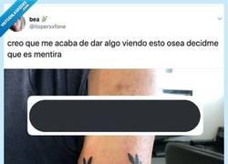 Enlace a Cree que se ha tatuado una frase mítica en griego y lo único que ha hecho es joderse el brazo, por @itspersxfone