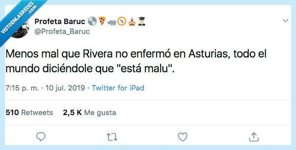 albert rivera enfermo,asturiano,malu