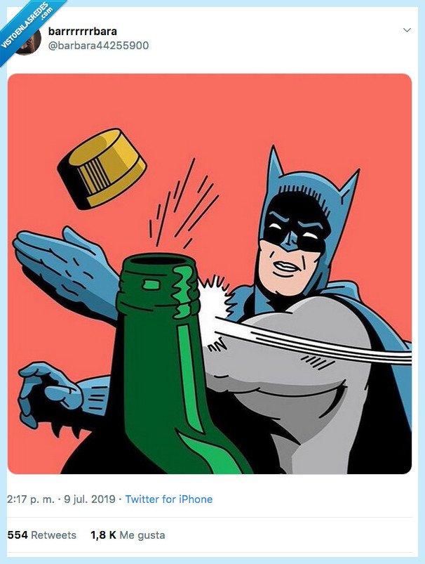 batman,botella,challenge,ganar