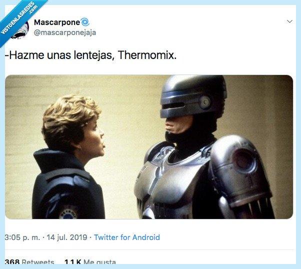 elexa,lentejas,thermomix