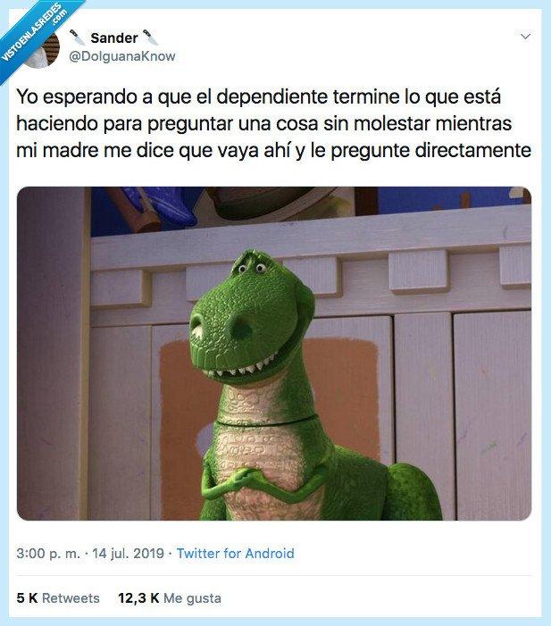 dependiente,dinosaurio,educacion,terminar,toy story