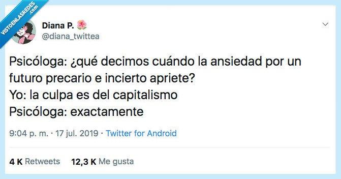 ansiedad,capitalismo,decir,psicóloga