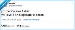 Enlace a EL DRAMA DE HACERSE LA MALETA, por @Quemadisima
