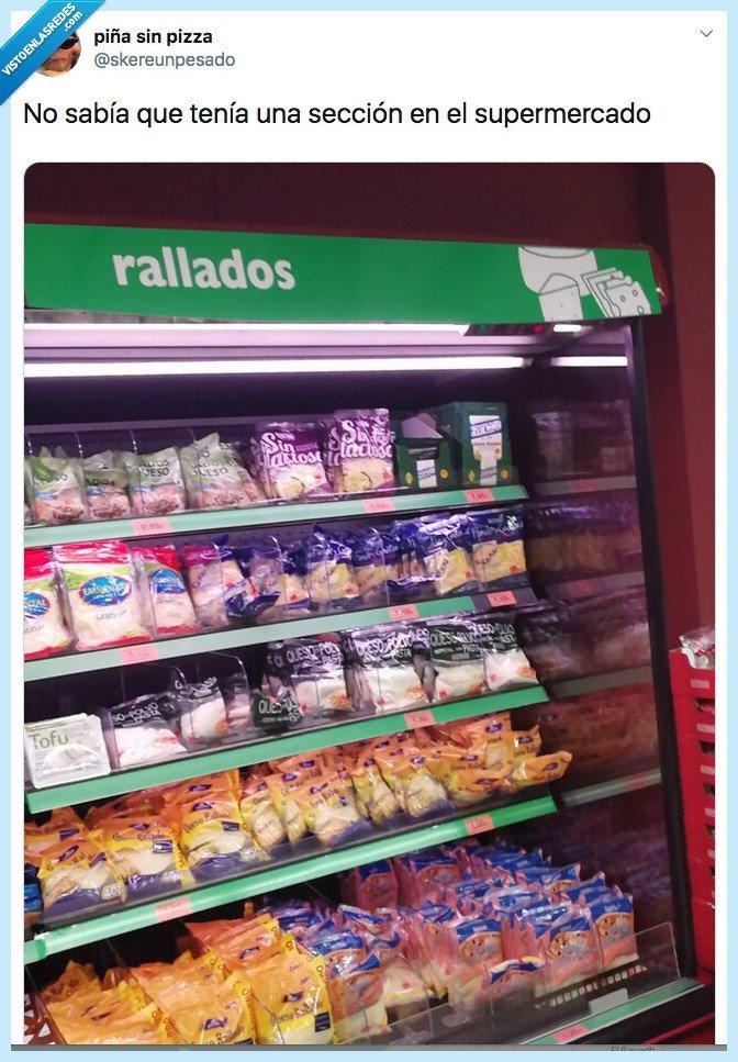 queso,queso rallado,supermercado