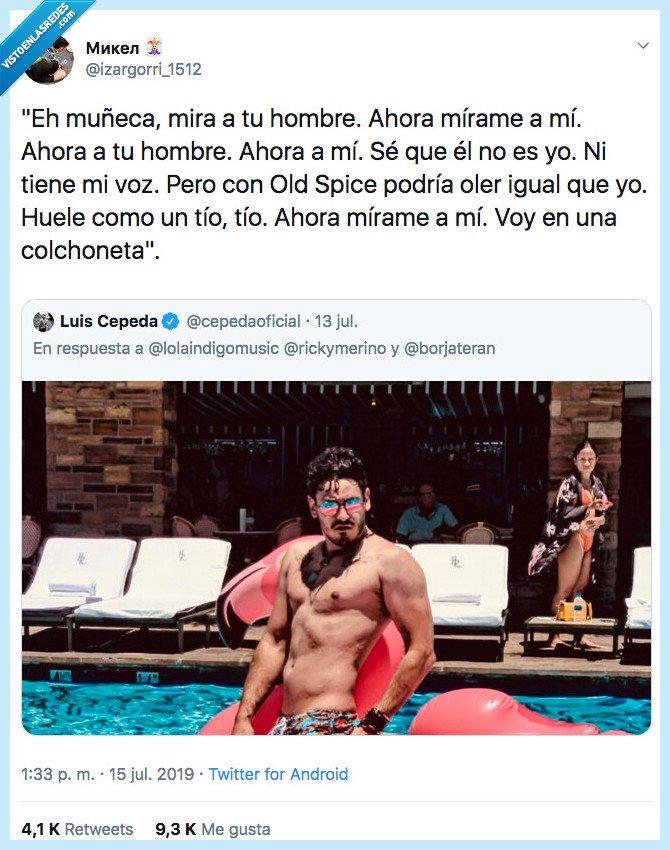 cepeda,foto,old spice,piscina