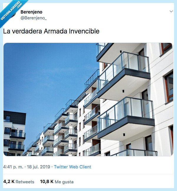 armada inencible,balcones