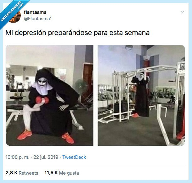 depresión,desprevenida,prepararse,semana