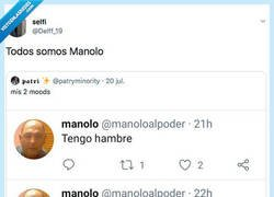 Enlace a Manolo me representa en la vida, por @Delff_19