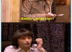 Enlace a Emilio representandome en la vida, por @nocontextanhqv