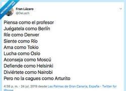 Enlace a No seas nunca como Arturo, por @DeLazh