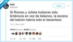 Enlace a Los Romeo y Julieta británicos, por @BigDabi