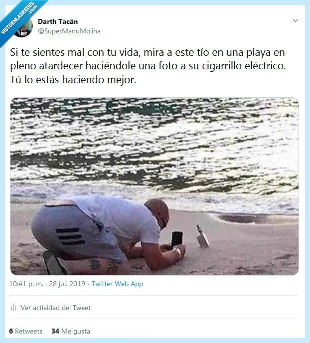 cigarrillo,foto,playa,vida