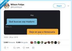 Enlace a Maduro, por@kroulinkeyos