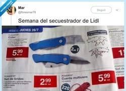 Enlace a Semana del secuestrador en Lidl, por @floresmar78