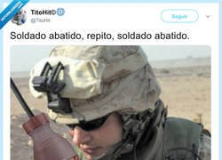 Enlace a Soldado abatido, por @TitoHit
