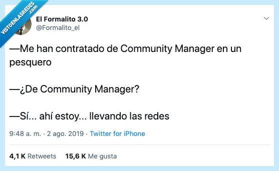 community manager,pesquero,redes