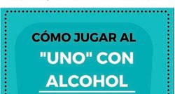 Enlace a Las instrucciones para jugar al UNO con alcohol y puede ser muy divertido y muy catastrófico a la vez, por @mycampus.online
