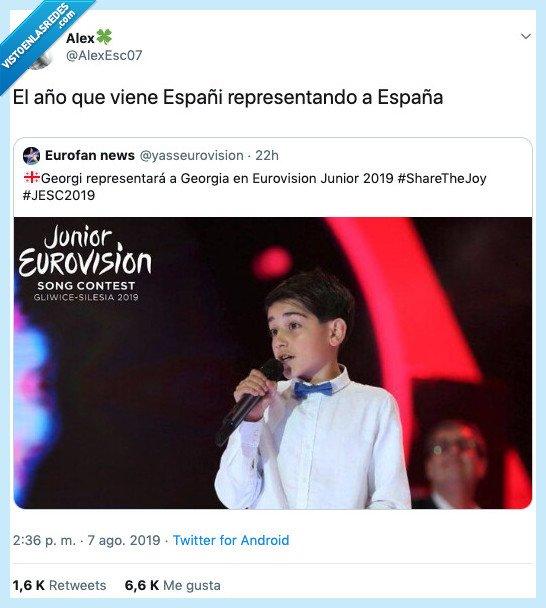 españa,eurovision,eurovisión junior,georgi,representar