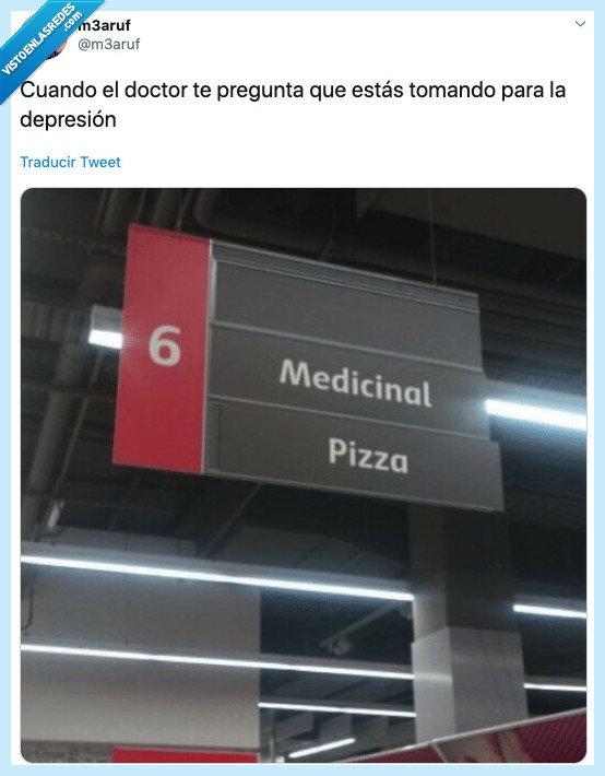 lo cura todo,medicinal,pizza