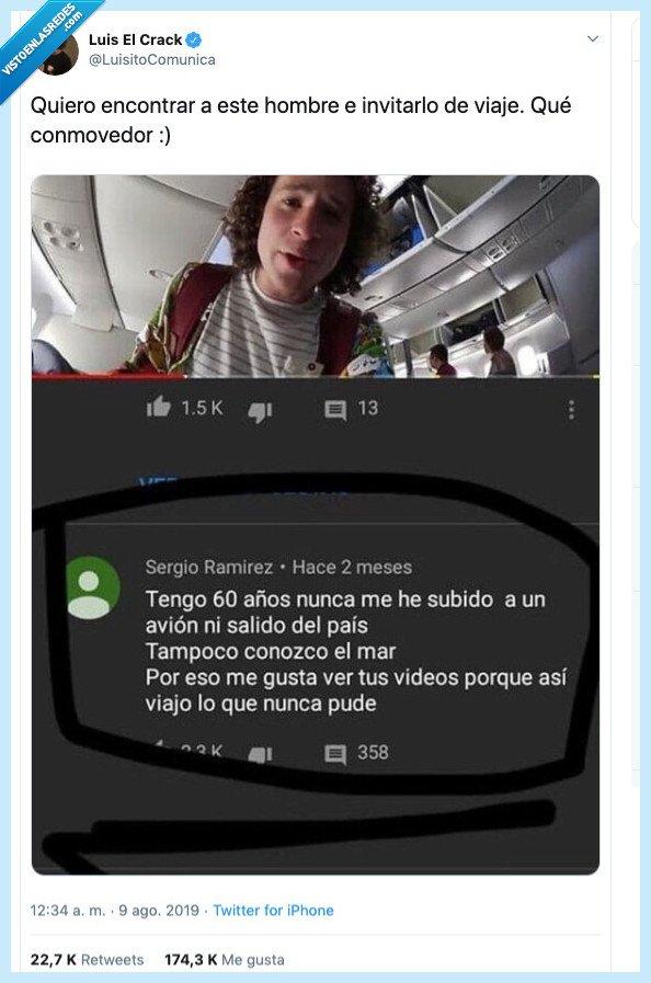 comentario,luisito comunica,youtuber viajero