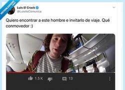 Enlace a El bonito comentario que recibe este Youtuber viajero que nos ha puesto el corazón tierno, por @LuisitoComunica